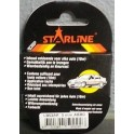 Liseret tuning STARLINE 10m x 3mm, rouge
