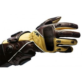 Gants KNOX Recon Touring marrons Taille M