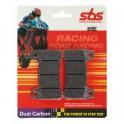 809DC Plaquettes de frein Racing SBS 809DC Dual Carbon