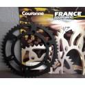 FE3500.52 Couronne acier FRANCE EQUIPEMENTPas 520, 52 dents.