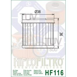 HF116 Filtre à huile Hiflofiltro