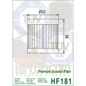 HF181 Filtre à huile Hiflofiltro