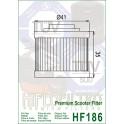 HF186 Filtre à huile Hiflofiltro