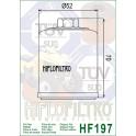 HF197 Filtre à huile Hiflofiltro